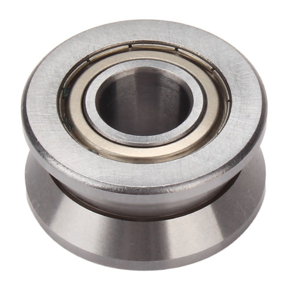 2PCS V groove guide Wheel bearing for Sliding Door Guide Roller Bearing 1 piece bu3328 6 6 33 27 5 29 5 mm z25 guide rail u groove plastic roller embedded dual bearing