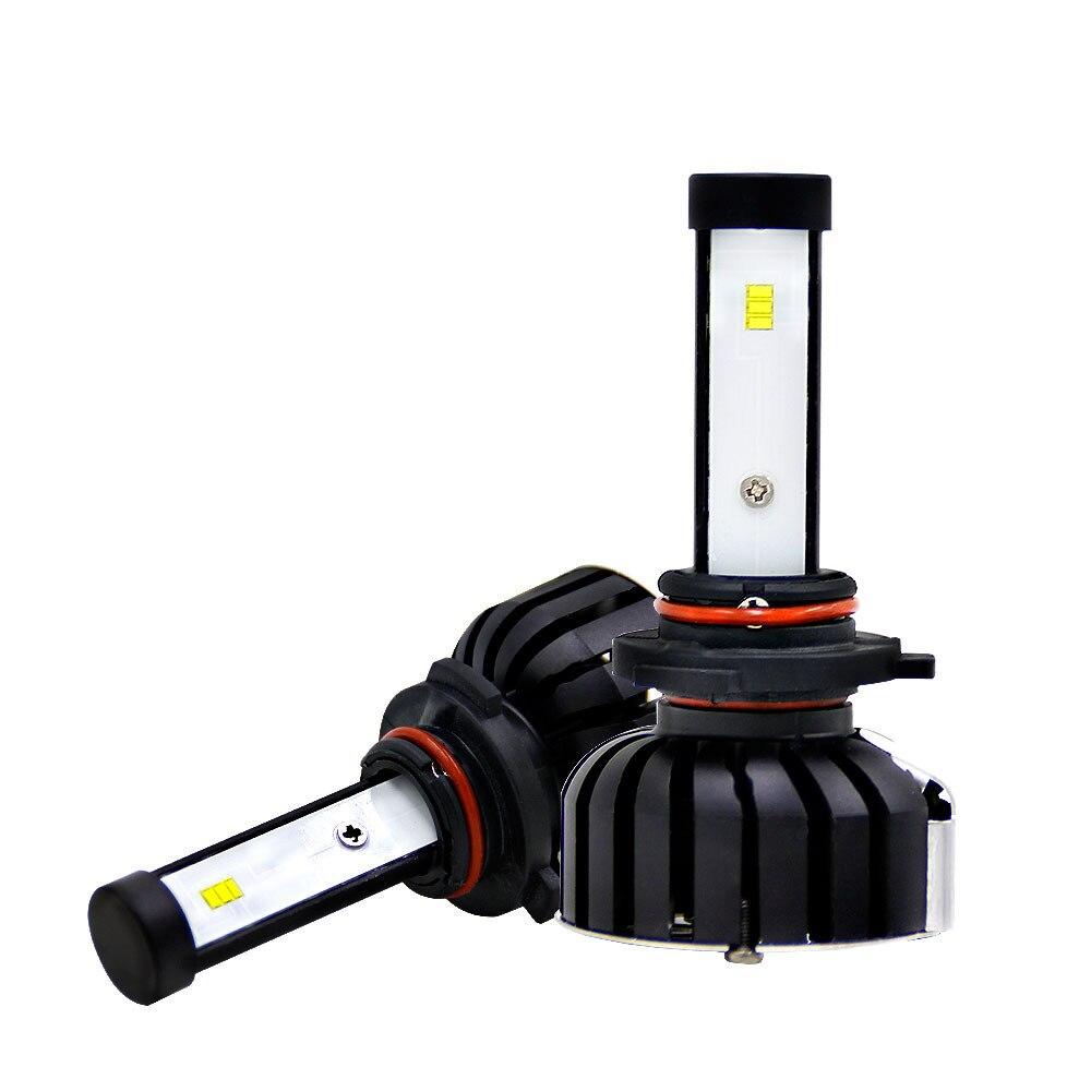 Vehemo 2 шт. спереди светодиодный фары освещение сборки Замена для Светодиодный лампочки Светодиодный фонарь Универсальный детская безопасн