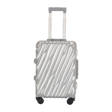 High Quality Aero Spinner Hardside Luggage 20 Inch Silver Dual TSA Locks Include Carry-On Luggage For  Pleasant & Business Trip