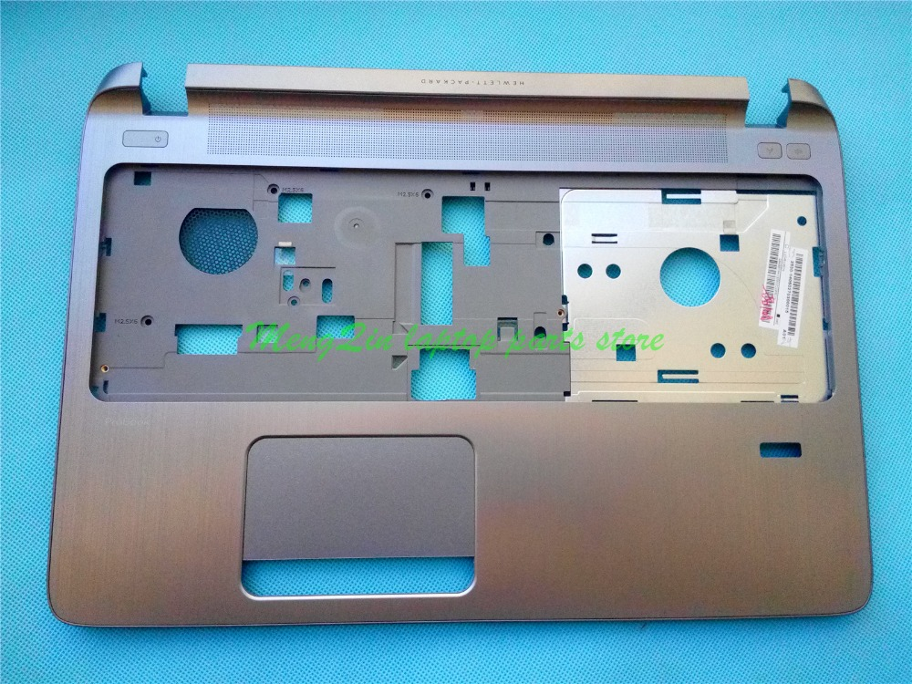 New for HP Probook 450 455 G2 Laptop Palmrest Upper Case AP15A000400 791689-001 new top cover upper case for hp 450 455 palmrest 685762 001 6070b0591701 gray