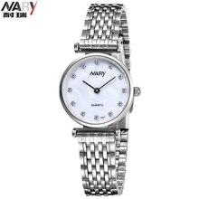 Los hombres Adelgazan Dracelet Amante Dial Acero Inoxidable Reloj de Lujo del Rhinestone de Las Mujeres de Moda Casual Relojes de Cuarzo Relogio Masculino