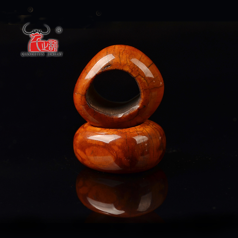 Pendant Buddhist-Beads The-Shape Natural Accessories. with of Original Color DIY Bodhi
