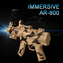 Newest style AR-Gun AR Game Gun for kids electric toy with shoot games bluetooth controller for Android iOS iPhone Phones 4624
