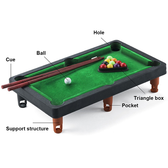 Board Games for Children Mini Billiards Snooker Toy Set Home Party Games Kids Boys Parent Child Interaction Game Education Toys 4