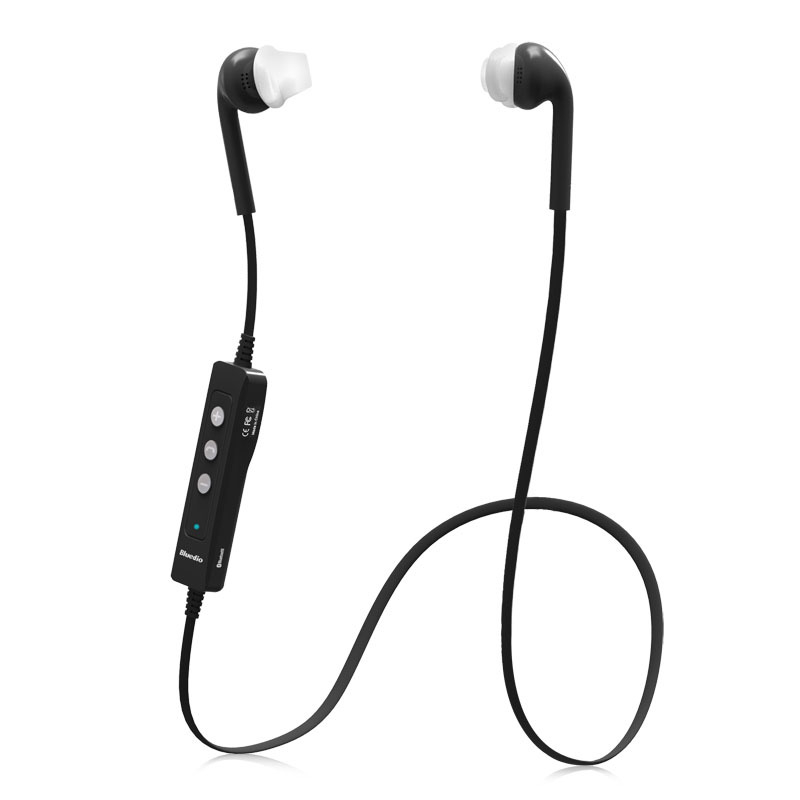 Wholesale Bluetooth V4.0 CVC noise reduction in ear Waterproof sports Earphones bluetooth wireless headphones With Mic