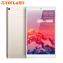 Teclast P80 Pro Tablet PC 8.0'' HD Android 7.0 Upgraded 3GB RAM 16GB eMMC ROM MTK8163 Quad Core Double Cams Dual WiFi HDMI GPS(China)