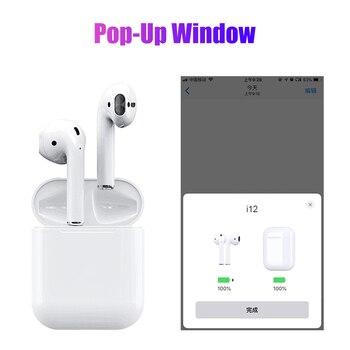 Mini i12 TWS Touch Bluetooth наушники 5,0 с корпусом Музыка 3D стерео гарнитура для Apple iphone samsung sony настоящие беспроводные наушники >> MEIZHI Official Store
