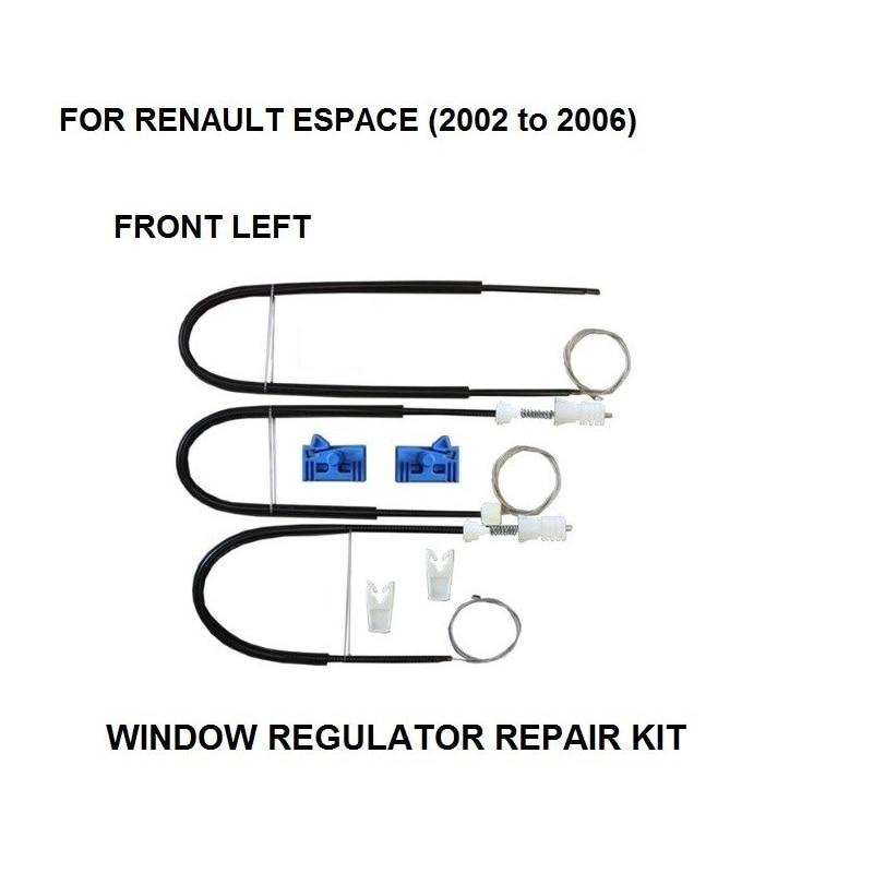 FOR RENAULT ESPACE MK IV 4 ELECTRIC WINDOW REGULATOR REPAIR KIT FRONT LEFT 2002-2006