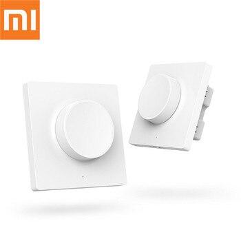 Original Xiaomi Yeelight Smart Dimmer Switch Wireless Switch Wall Switch For Mi home App Remote Control Yeelight Ceiling Light