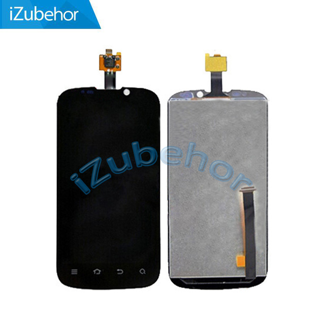 100% warranty black LCD display Screen with touch screen assembly For ZTE Grand X V970 by free shipping