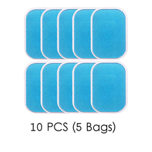 5pairs 10pcs Replecament Gel Stickers Patch Pads Silicone Hydrogel Mat Wireless Smart EMS Abdominal Muscles Training Body Massa