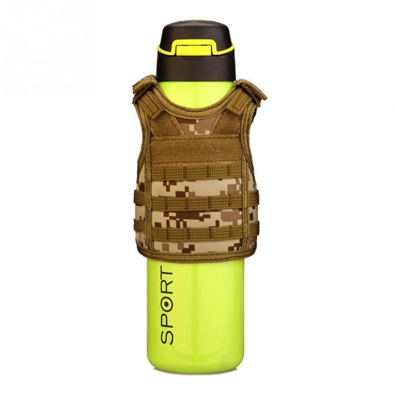 Sports & Entertainment Beer Vest Mini Tactic Military Vest For Beer Bottle Miniature Wine Bottle Cover Vest Beverage Cooler Camping Hiking Accessories Volume Large