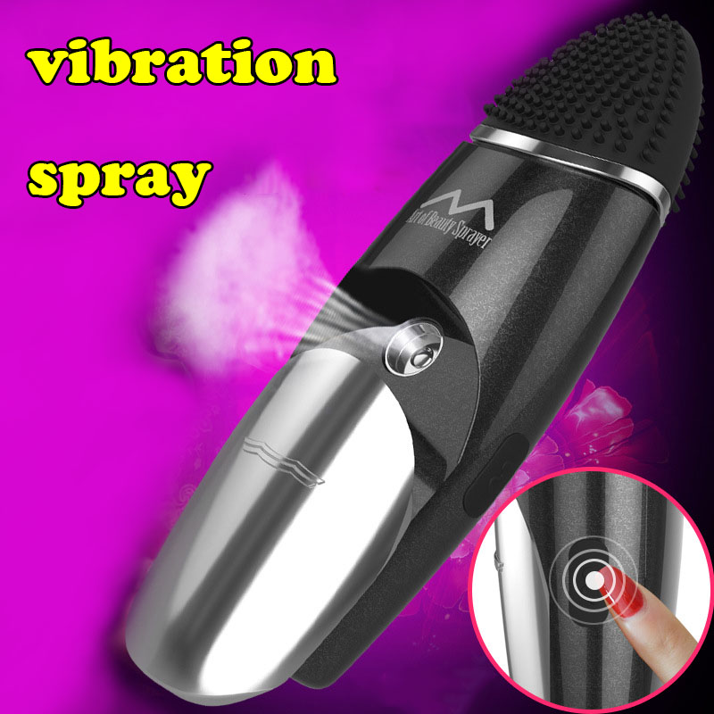 Tongue vibrator sex toys for woman clitoris stimulator licking toy magic wand massager Add water spray adult sex toys vibrators new tongue vibrator sex toys for woman clit vagina stimulator mute super shock motor 60s arouses female orgasm adult masturbator