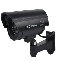 Keeper עמיד למים Dummy מזויף CCTV מצלמה עם מהבהב LED עבור חיצוני או פנימי מציאותי מחפש מזויף מצלמה עבור אבטחה