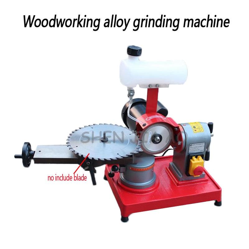 Holz legierung sägeblatt schleifen maschine kleine säge getriebe schleifen maschine getriebe grinder maschine 220V 370W