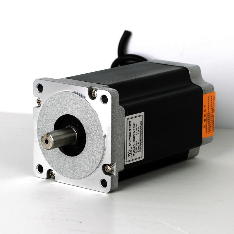 Supplies 86BYGH350A Three-phase Mixed Type Stepper motor High Pressure 220V (2n.m) 86 Miniature Motor