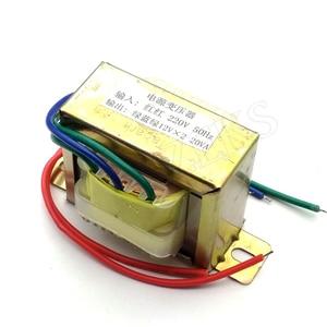 Image 2 - Ферритовый сердечник EI 20 Вт, вход 220 В, 50 Гц, Вертикальное Крепление, Электрический силовой трансформатор, выходное напряжение Doubel 12 В