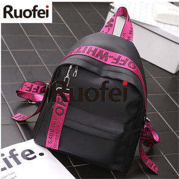 2018 Women Backpacks nylon Backpack Female Trendy backpack Designer School Bags Teenagers Girls Travel Mochilas