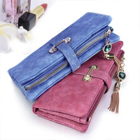 EEMIA Mobile Phone Bag For Xiaomi Mi A1 Case Long Casual Purse PU Leather Wallet Case