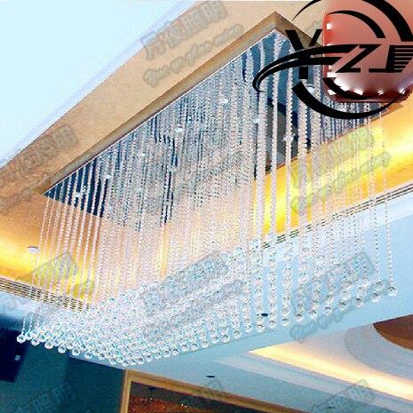 Luxusní Obývací pokoj Křišťálový lustr Velký projekt - Vnitřní osvětlení