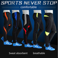 Jogging Pants Trousers Pants Feet Close Football Movement Elastic Trousers Riding Trousers Dry Fit Running Pants
