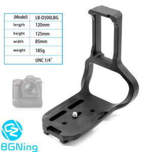 Image 2 - Quick Release Plate Professional Tripod Mount Adapter Bracket Plate for Nikon D500 DSLR Interface Width 38mm Camera Photography