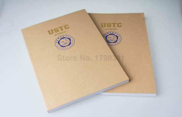 Kraft Paper Notebook Front Cover Printed Notepad School Notebook - meeting note pad