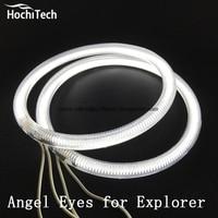 HochiTech Excellent CCFL Angel Eyes Kit Ultra Bright Headlight Illumination For Ford Explorer 2011 2012 2013