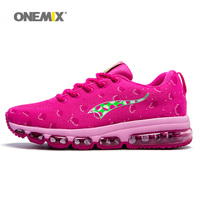 Woman Running Shoes For Women Cushion Shox Athletic Trainers Fruits Design Sports Max Plum Breathable Outdoor