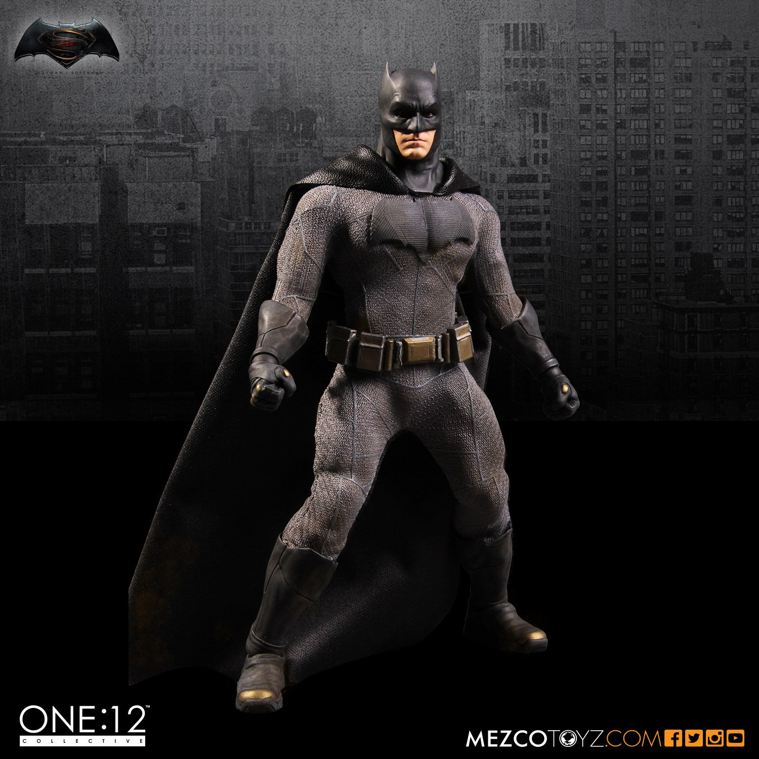 Dawn of Justice: Batman One:12 Collective High Quality BJD Action Figure Toys hardin collective action
