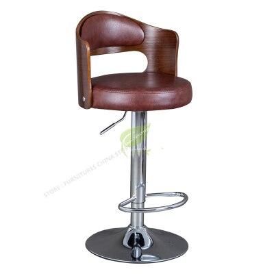 Stool Bar Tabouret De Bar Iron Bar Chair Bar Furniture Make Up Chair Beauty Salon Furniture Solid Wood European Style Retro