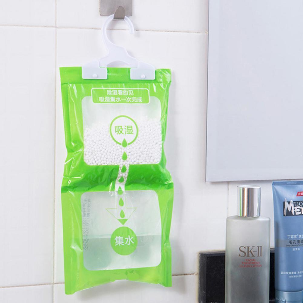 Desiccant Packets Moisture Absorbent Bag Hanging Wardrobe Closet Dehumidizer Desiccant Bag Household Cleaning Tools Wholesale