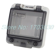 9 12 ways plastic distribution box for circuit breaker indoor on the wall Waterproof Clear 4 Position Distribution Box Switch Cover for Circuit Breaker