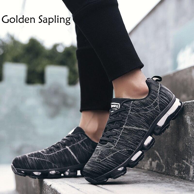 Or Gaules De Tennis De Printemps Chaussures Hommes Haut de Caoutchouc Hommes Sneakers Respirant Maille de Rembourrage Hommes Sport Chaussures Hommes Sneakers homme
