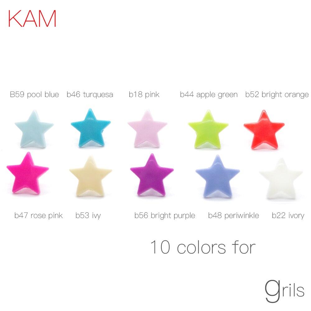 10 snaps KAM star sky blue