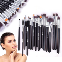 Fashion 20pcs Set Makeup Brush Professional Foundation Eye Shadow Blending Cosmetics Make Up Tool For Makeup