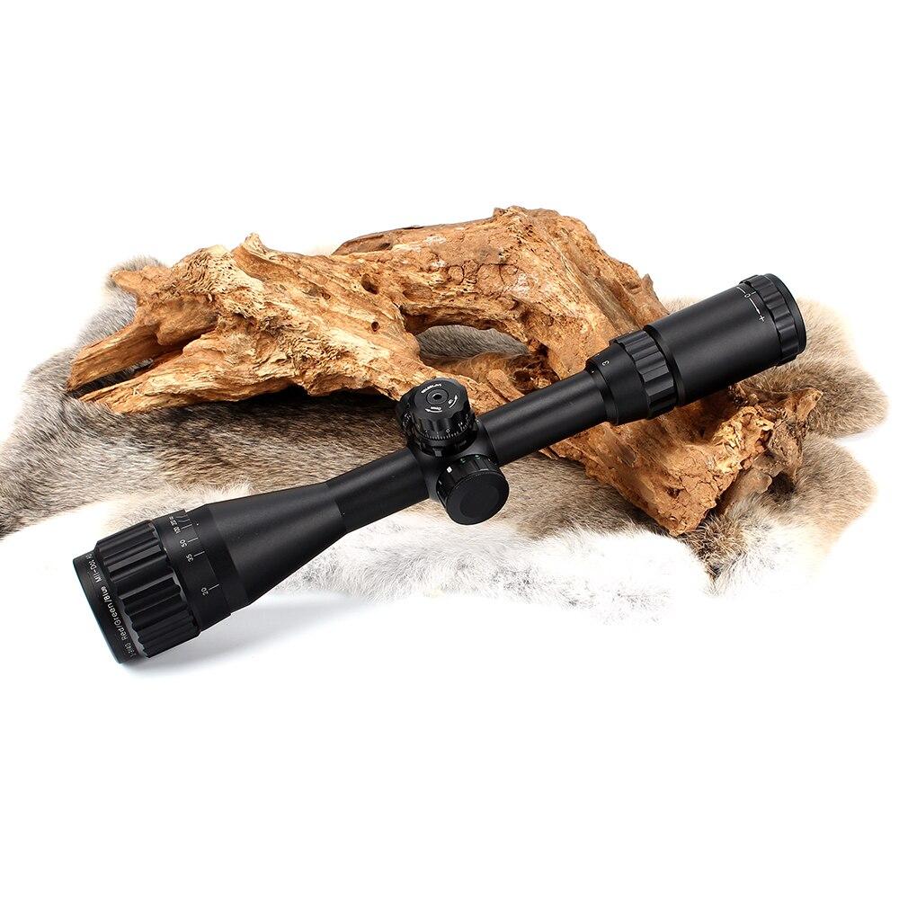 llluminate Torres de Bloqueio Rifle Âmbito Retículo