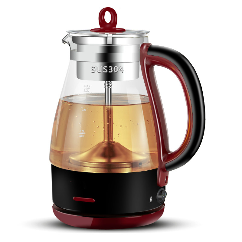 Brew tea pot black electric pu 'er automatic glass raised teap мужские часы platinor витязь 50650 pla50650