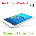 HD Clear 0.26mm 2.5D Premium Vidrio Templado protector de Pantalla de 8 pulgadas cube iwork 8 aire/iwork8 final Película Protectora de la tableta