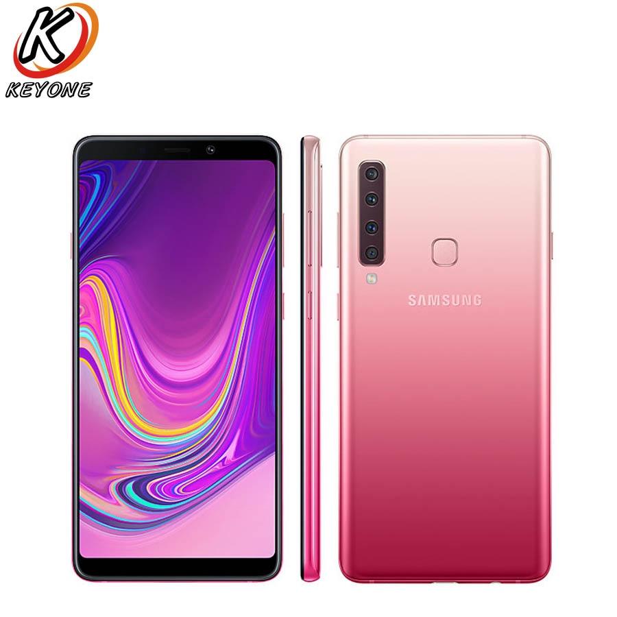 """ใหม่ Samsung Galaxy A9 A920F DS 4G โทรศัพท์มือถือ 6.3 """"6 GB RAM 128 GB ROM Octa Core Dual ซิมสี่ด้านหลังกล้อง Android 3800 mAh โทรศัพท์-ใน โทรศัพท์มือถือ จาก โทรศัพท์มือถือและการสื่อสารระยะไกล บน AliExpress - 11.11_สิบเอ็ด สิบเอ็ดวันคนโสด 1"""