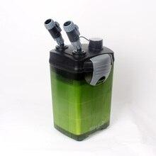 Высокое качество 605-635 800L/ч головы 1,5 м внешний фильтр для аквариума для рыб танк исключая фильтр материалы тихую рабочую 220V 50HZ