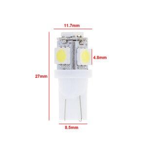 Image 3 - 20 unids/lote de luces LED para coche, luz de lectura Interior, súper brillante, para Auto, cuña lateral, matrícula, maletero, lámpara de equipaje, súper blanco