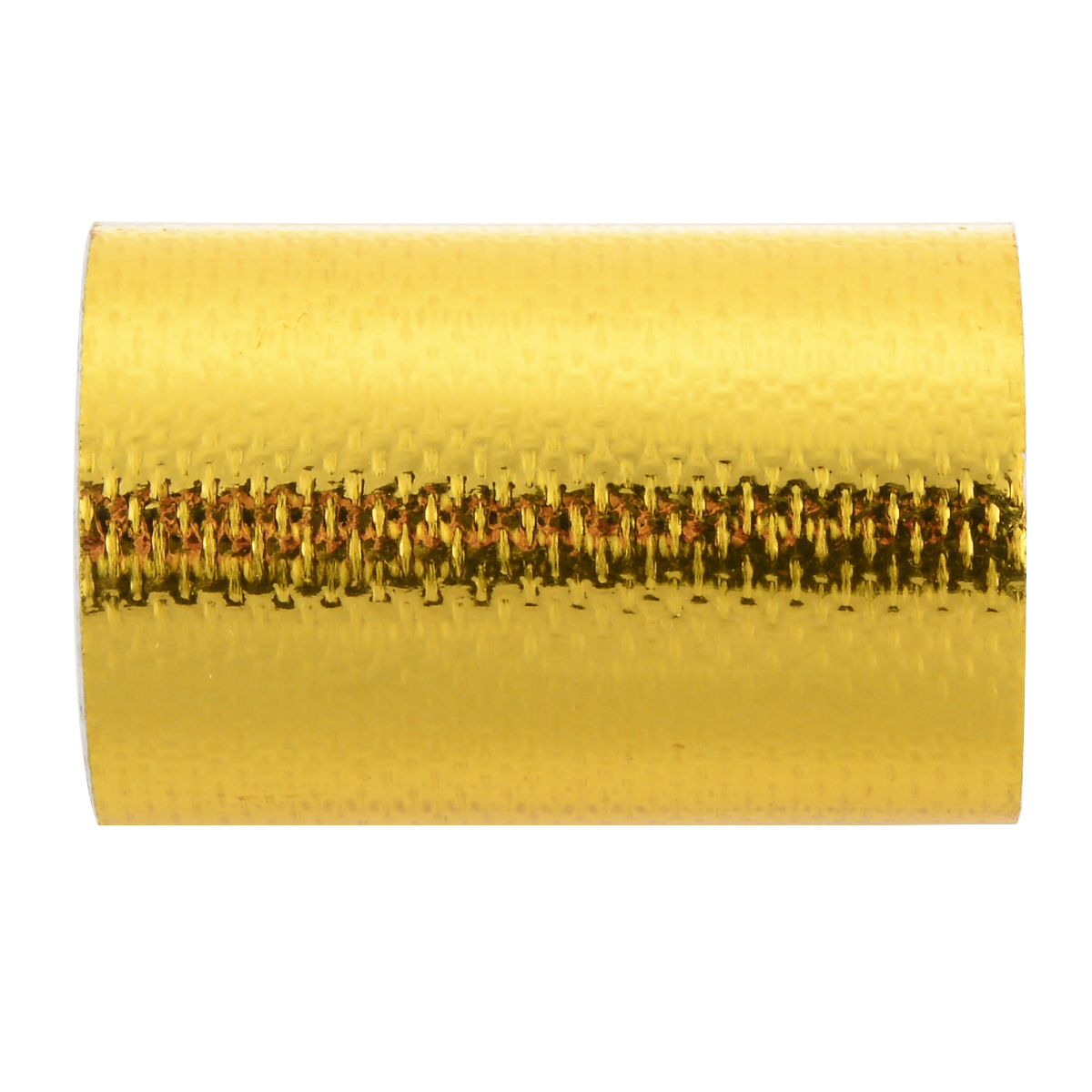 Durable 1Roll 5cm x 80cm Fiberglass Adhesive Reflective Gold High Temperature Heat Shield Wrap Tape Waterproof