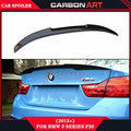 F30 M4 carbon fiber rear spoiler for bmw 3 series