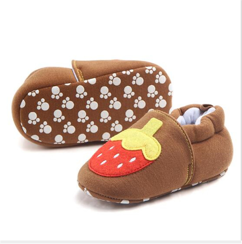 2017 Lovely Warm Baby Shoes Soft Sole Infants Bebe First Walkers