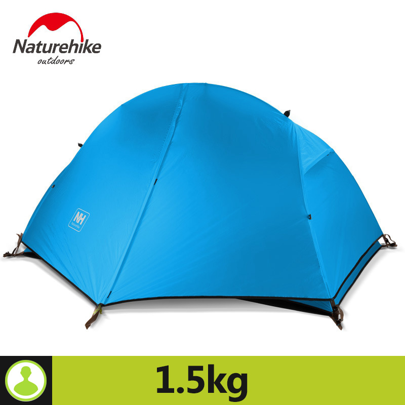 Naturehike Ultralight 20D Silicone Fabric 4 Season Double-Layers Aluminum Rod Camping Tents Outdoor Tent