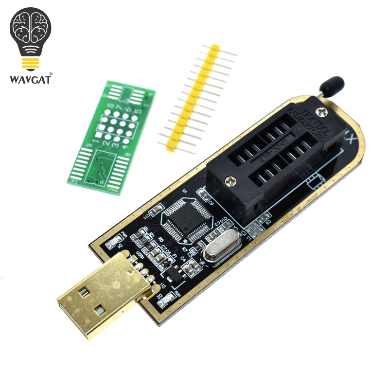 US $3 51 12% OFF|XTW100 USB Programmer with Software Driver 24 25 Series  EEPROM Flash BIOS SPI FLASH Motherboard Multifunctional CH341A upgrade-in
