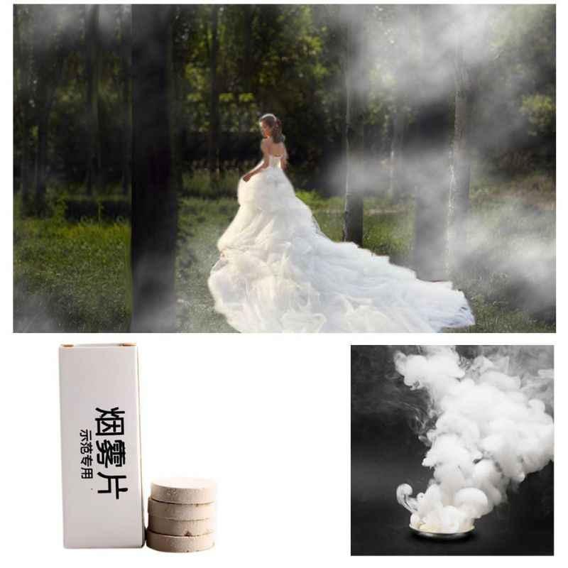 ควันทำเม็ดเทศกาล Props การเผาไหม้ Smog เค้กผลควันระเบิดเม็ดแบบพกพาการถ่ายภาพ Prop 10 ชิ้น/เซ็ต