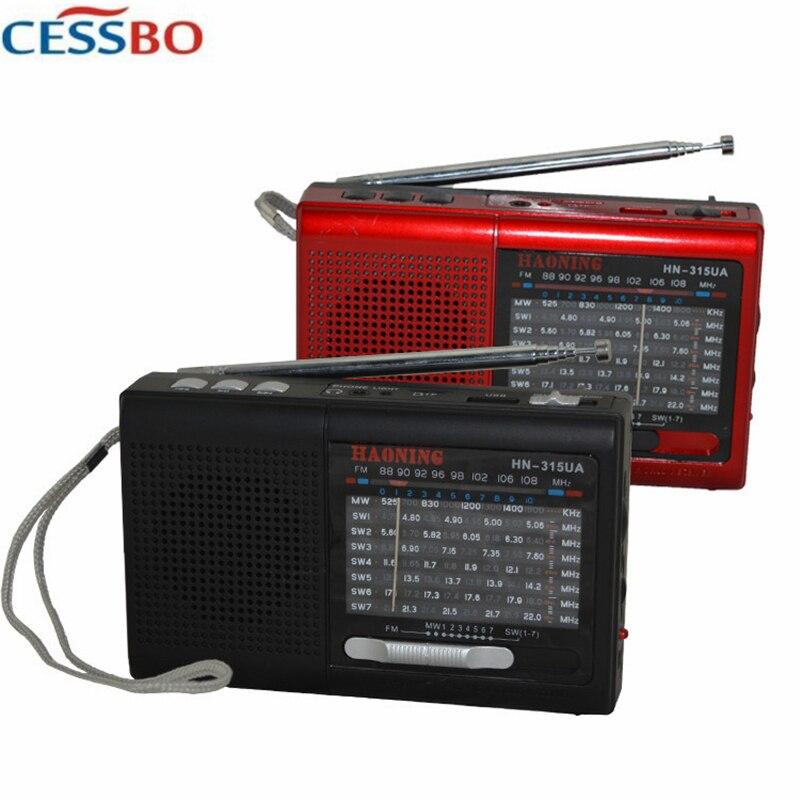 Fm/am/sw Mini Tragbare Radio Karte Neutral Ältere Mp3 Player 3 In 1 Lautsprecher Unterstützung Tf Karte & Usb Stick Musik Mp3/4 Mini Fm Radio Um Jeden Preis Unterhaltungselektronik Radio