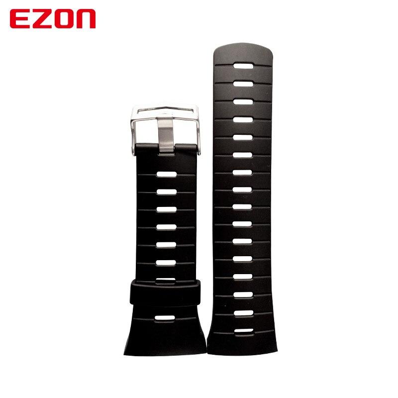 EZON Sports Watch Pin Buckle Rubber Strap 24Cm Length New Fashion Watchband for L008 T023 T029 T031 G1 G2 G3 S2 H001 T007 рекламный щит dz 1 2 j3b 023 billboard jndx 3 s 2